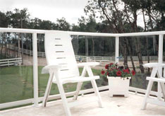 MetroSiding Glass Panel Railings